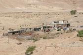 Village dans le désert de Judée — Photo