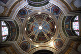 Dome of the The Church Stella Maris, mountain Karmel, Haifa, Israel — Stock Photo