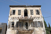 Vintage House, Ghost town detail. Nazareth Israel — Stock Photo