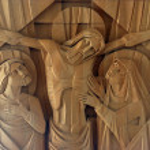Jesus korsfäst på korset — Stockfoto #15479045