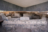 Capernaum The House of Saint Peter — Stock Photo