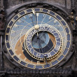 Famous medieval astronomical clock in Prague, Czech Republic — Stock Photo
