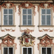 Prague facade - Stock Photo