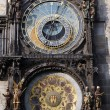 Famous medieval astronomical clock in Prague, Czech Republic — Stock Photo #15489935