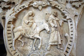 Flight to Egypt, Bethlehem Milk Grotto — Stock Photo