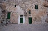 Monasterio etíope, iglesia del santo sepulcro, jerusalén, israel — Foto de Stock