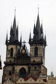 Iglesia de la virgen maria antes de tyn, praga, república checa — Foto de Stock