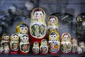 Russian toy - babushka — Stock Photo