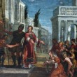 St. Lawrence leads poor prefect of Valerian — Stock Photo #15490867