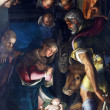 Nativity, Adoration of the shepherds — Stock Photo