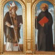 Saint Benedict and Saint Augustine - Stock Photo