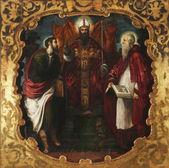 Saint Mark, Saint Jerome and Saint Barthelemy — Stock Photo