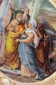 Visitation de la vierge marie — Photo