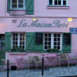 LMaison Rose restaurant on Montmartre — Stock Photo #18057809