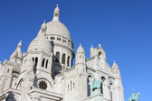 Basilique of Sacre Coeur, Montmartre, Paris, France — Stock Photo