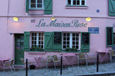 La Maison Rose restaurant on Montmartre — Stock Photo
