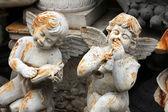 Bit pazarı, melekler. paris, fransa. — Stok fotoğraf