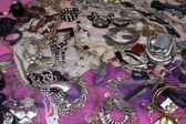 Jewelry at Flea Market, Paris, France — Stock Photo