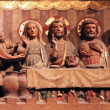 Last supper of Christ, Notre, Dame cathedral in Paris — Foto Stock