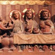 Last supper of Christ, Notre, Dame cathedral in Paris — ストック写真