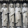 Bartholomew, Simon, James the Less, Andrew, John, and Peter. — Stock Photo