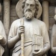 Saint Simon, Notre Dame Cathedral, Paris — Stock Photo #18071723