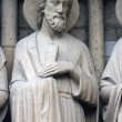Saint Andrew, Notre Dame Cathedral, Paris — Stock Photo