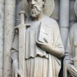 Saint Paul, Notre Dame Cathedral, Paris — Stock Photo