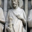 Saint James the Great, Notre Dame Cathedral, Paris — Stock Photo