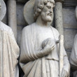 Saint Jude, Notre Dame Cathedral, Paris — Stock Photo