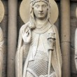 Queen of Sheba, Notre Dame Cathedral, Paris — Stock Photo