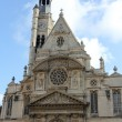 Church Saint Etienne du Mont, Paris, France — Stok fotoğraf