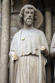 Saint Bartholomew, Notre Dame Cathedral, Paris — Stock Photo
