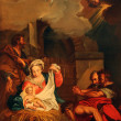 Nativity Scene, Adoration of Shepherds — Stock Photo #18080497