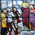 聖ジュヌヴィエーヴの石棺を転送します。 — 图库照片