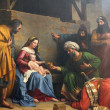 Stock Photo: Nativity Scene, Adoration of Magi