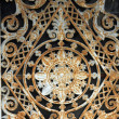 Stock Photo: Ornate tomb door