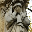 Sculptures from the Pere Lachaise Cemetery Paris — Stock Photo #18083995