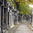 Pere Lachaise Cemetery Paris, France — Stock Photo #18085063