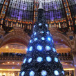 Christmas tree at Galeries Lafayette, Paris — Stock Photo #18088791