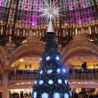 Christmas tree at Galeries Lafayette, Paris — Stock Photo #18088793