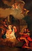 Nativity Scene, Adoration of the Shepherds — Stock Photo