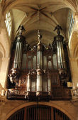 Orgue, eglise de saint etienne du mont, paris. — Photo