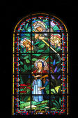 Saint Catherine, Saint Michael, Saint Margaret and Joan of Arc — Stock Photo