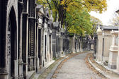 Pere Lachaise Cemetery Paris, France — Stock Photo
