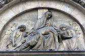 Piedad, santa isabel de la iglesia de hungría, parís — Foto de Stock