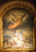教会的三位一体,巴黎圣母怜子图 — 图库照片