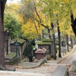 Pere Lachaise Cemetery Paris — Stock Photo #18091477
