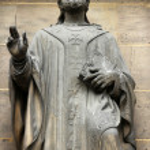 Saint Martin of Tours — Stock Photo