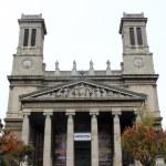 Saint Vincent de Paul church, Paris — Stock Photo